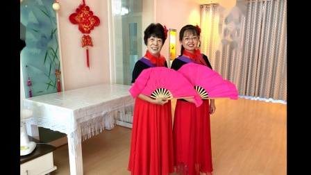 靓丽夕阳舞蹈:陕北人.视频制作:花儿..2020.7.28.