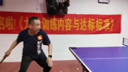 徐州市铜山区大许镇金明达乒乓球活动站个人乒乓技术视频权晓峰