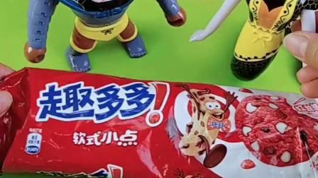 蝎子精给夫人做饼干,把乔治佩奇装在饼干里,葫芦娃来救小朋友们!