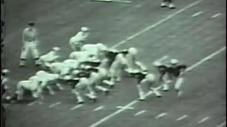 剪辑版:1964赛季NCAA 西点军校vs海军学院