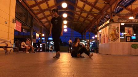 布拉格火车站 即兴舞蹈