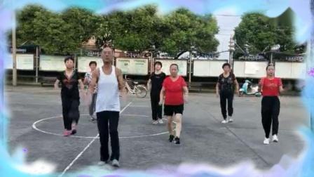 周巷镇长胜公园健身操