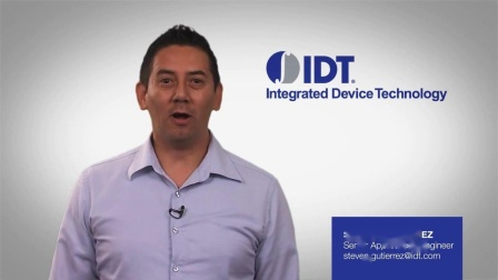 IDT Timing CommanderTM Software Overview