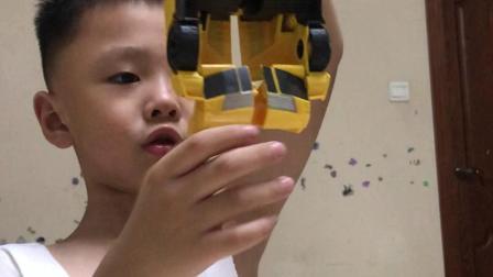 小王玩具——第29期 孩之宝大黄蜂变形金刚
