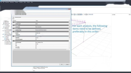 T8 Analysis Steps and Solver