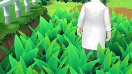 精灵宝可梦01:我得到了一只野生皮卡丘,河马弟看到想抢走它