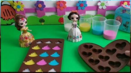 贝儿的便便巧克力PK白雪的爱心巧克力!