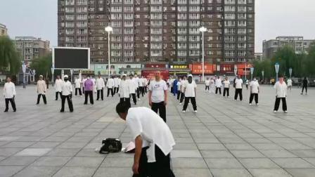 辉南县传统杨氏太极拳全民健身活动演练(三)
