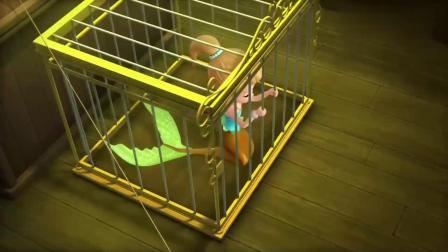 小公主苏菲亚:海鸥发现被困的美人鱼公主,偷偷潜回,通风报信