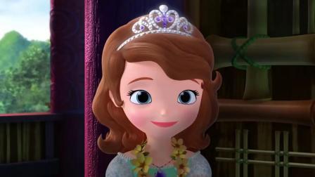 小公主苏菲亚:海的女儿请苏菲亚做向导,小公主欣然同意,开心