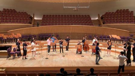"""维瓦尔弟 """"和谐的灵感"""" b小调四重协奏曲 米多 上海交响乐团走台2020/7/27"""