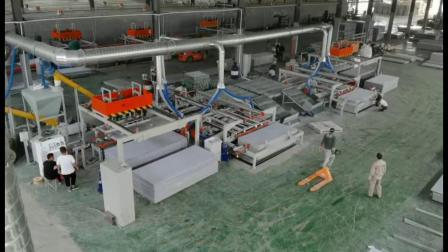 玻镁板全自动锯边机厂家宽窄可调裁边锯视频建业顺达机械