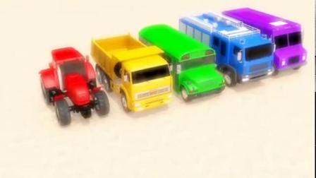 少儿搞笑汽车:小汽车参加挑战活动获得美味冰淇淋