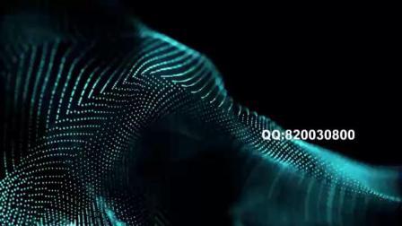 10009三维梦幻线条舞台背景素材