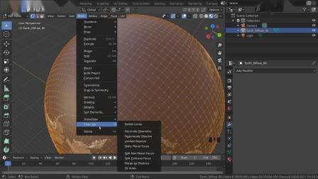 1分钟快速制作地球3D模型,建模你学会了吗