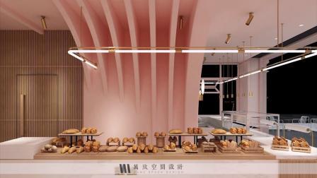 创意简约风南宁蛋糕店装修设计案例,打破传统装饰