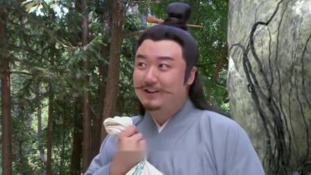 道长出题考验吕洞宾,要他分开紫米黑米,真是调皮的仙人