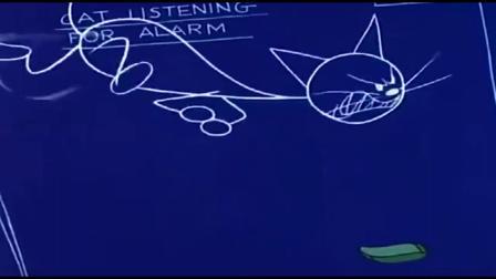 猫和老鼠:汤姆弄了个捕抓老鼠的计划图,也只有汤姆才能想得出来