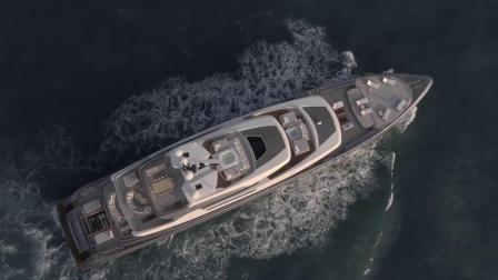 Attila 号超级游艇