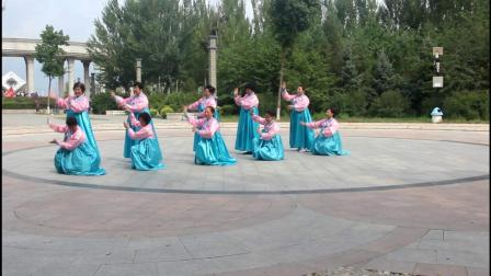 黑龙江省甘南县幸福社区北公园庆八一
