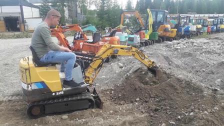 住友S20FX2微挖掘机