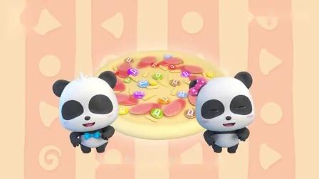 宝宝巴士:大家一起制作创意料理,披萨加彩虹糖怎么样