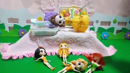 趣味玩具:贝儿把床占领了,王后会惩罚贝儿吗