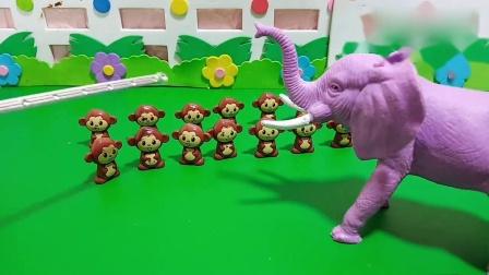 趣味玩具:小猴子的妈妈不见了,它们会找到自己的妈妈吗