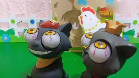趣味玩具:哪一个才是鸡妈妈的蛋宝宝呢