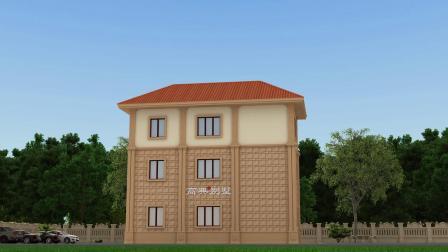 三层别墅房屋设计图,设计精美大气,布局新颖