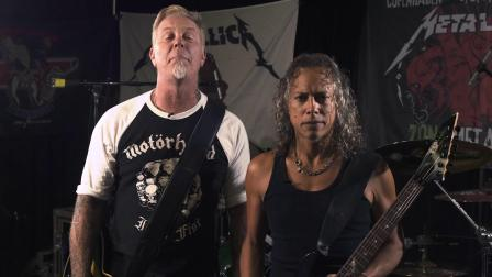 【Ernie Ball】Metalica的James Hetfield和Kirk Hammett的经验之谈
