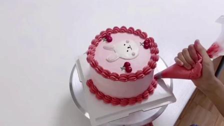 糖玩意儿卡通戚风蛋糕烘焙制作