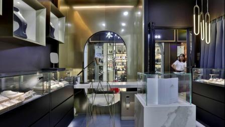 广州珠宝店铺、店面、展厅、展柜摄影作品【海泺摄影】出品