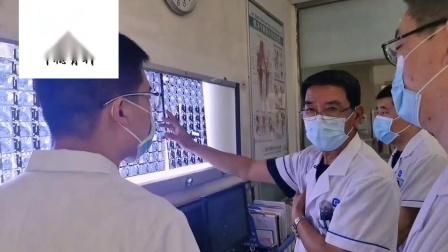 哈尔滨市中德研究所杨健主任阅片讲解腰间盘突出怎么治疗效果好。