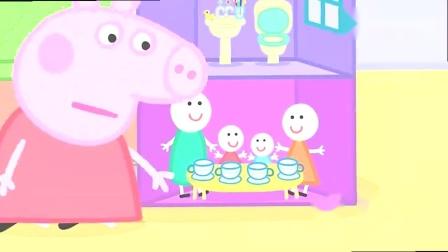 小猪佩奇:饼干怎么都没有了?可能是爸爸昨天都把它们吃了!