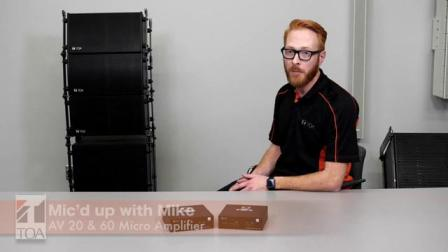 Mic d up with Mike - Micro Amplifier