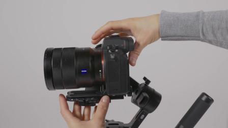 曼富图相机稳定器使用演示1