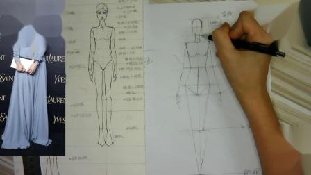 立体裁剪服装裁剪服装设计手绘裁剪制版