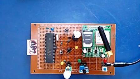 2019-534、51多功能家庭红外报警器设计-热释-火焰-GSM (1)