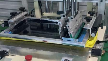 广州丝印机厂家,音响音箱外壳网印机,塑料塑胶板印花机,小型平面丝网印刷机,东莞优远印刷机械