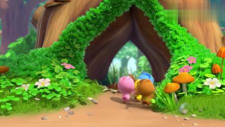 萌鸡小队:萌鸡争抢咖啡!却被小松鼠抢了先机,妥妥的吃货!