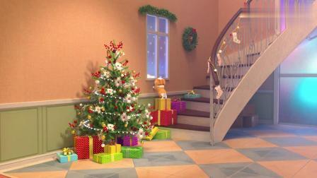 短腿小柯基:收最好吃的礼物,过最幸福的圣诞