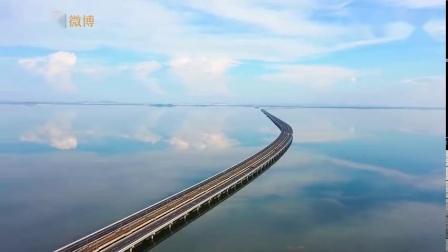 """绝美景色!南京石臼湖如同""""天空之镜"""""""