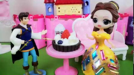 白雪亲手制作的慕斯蛋糕,王子却说是贝儿的!