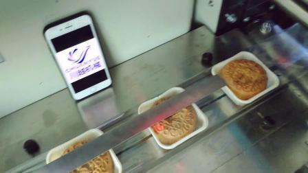 单个月饼自动包装机调试 冰皮月饼包装机