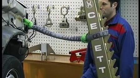celette使力得校正平台配置跑板 事故车辆上架方案 !NAJA电子测量 钣金维修
