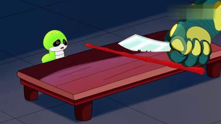 如意酷宝:这凤凰竹也太坚硬了,七彩蛇怎么也砍不断!