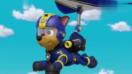 汪汪队:狗狗们救下会飞的猪,真是了不起呢