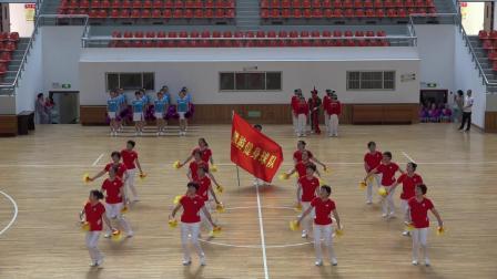 无极健身球《走向复兴》演出:麟游县代表队
