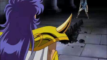 冥王十二宫,加隆决意守护雅典娜,被米罗承认黄金圣斗士身份